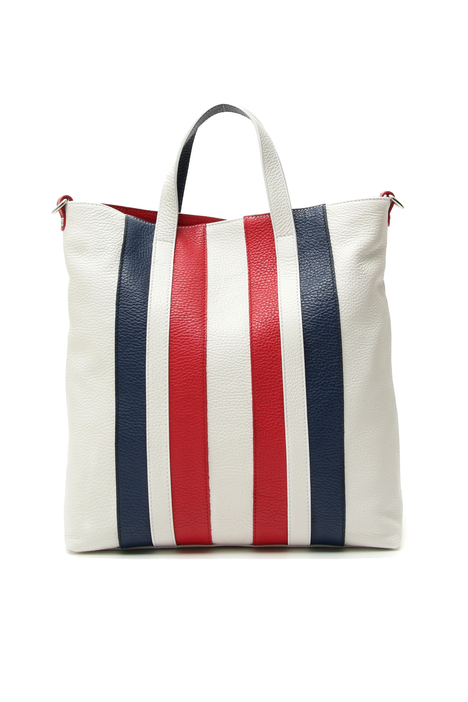 Contrasting intarsia bag Intrend