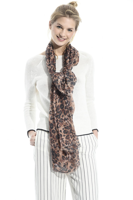 Animalier print scarf Intrend