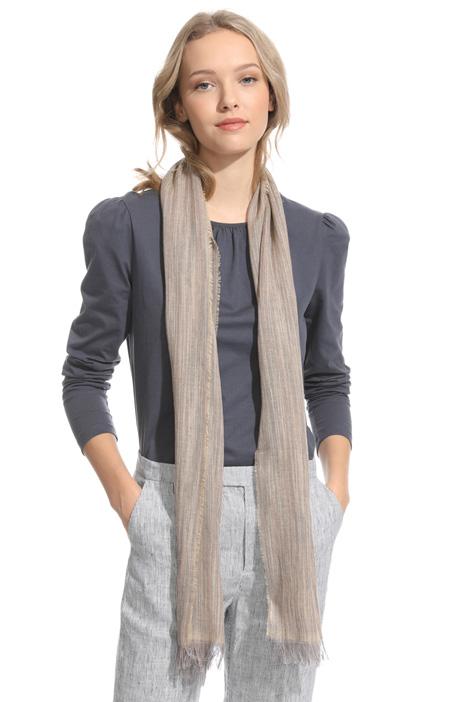 Linen gauze scarf Diffusione Tessile
