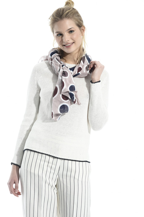 Lightweight cotton scarf Diffusione Tessile