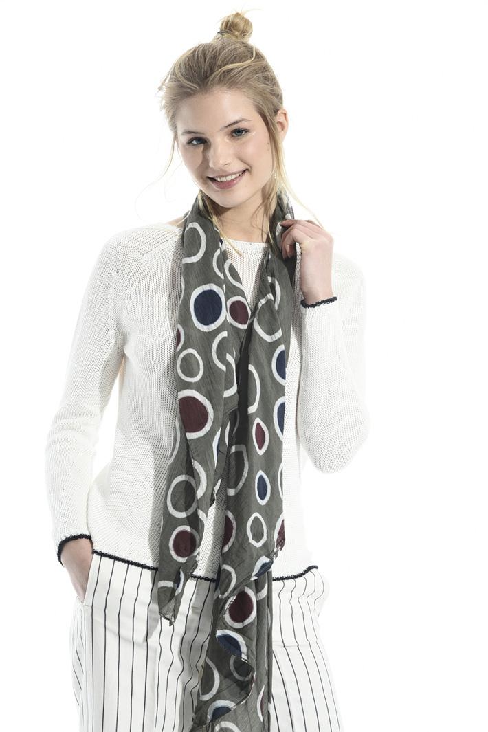 Lightweight cotton scarf Intrend