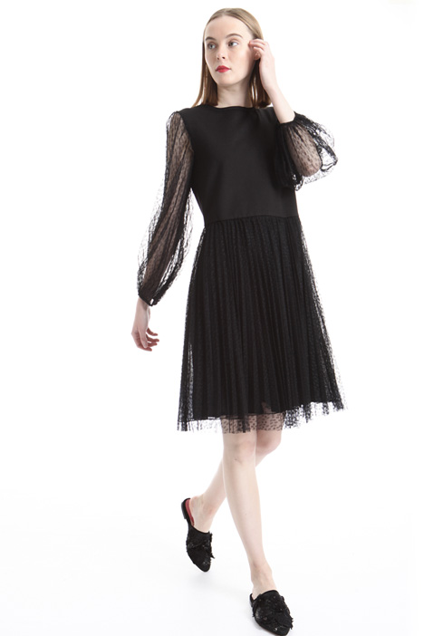 Pleated tulle dress Intrend