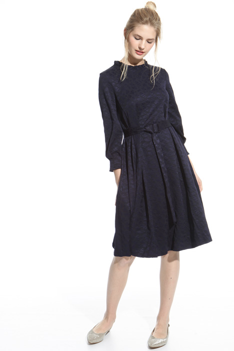 Jersey jacquard dress Intrend