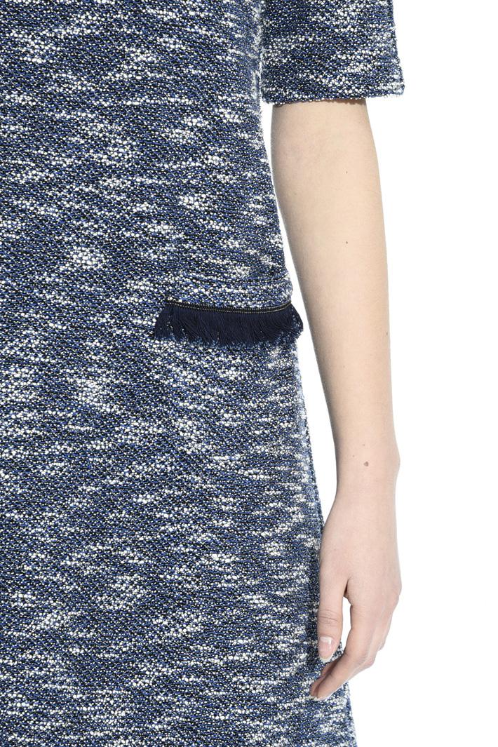Lurex interwoven dress Intrend