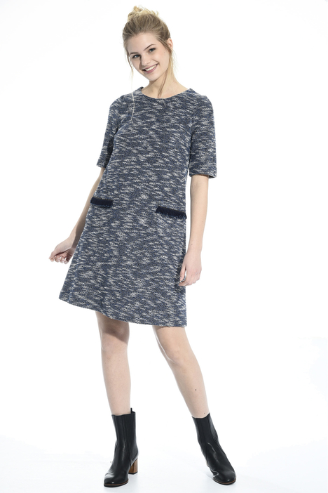 Lurex interwoven dress Intrend