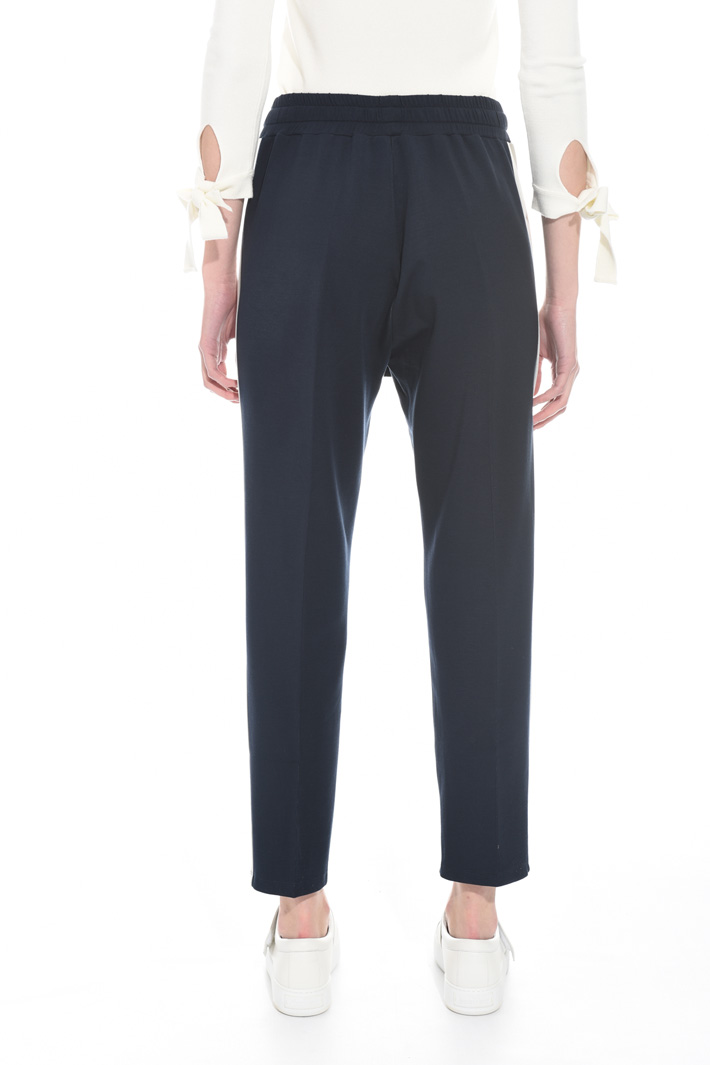 Jersey jogging-style trousers Intrend