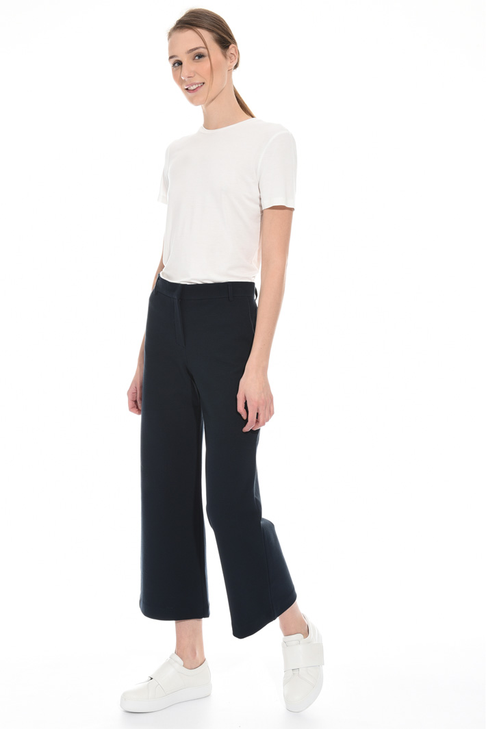 Jersey ottoman trousers Intrend