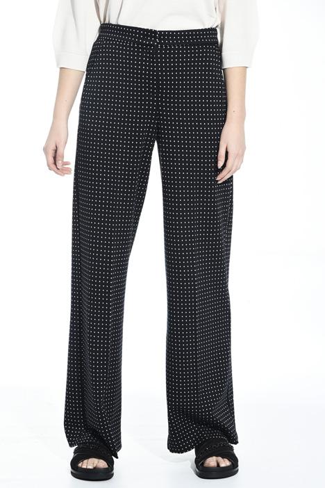 Pantalone in jersey jacquard Diffusione Tessile