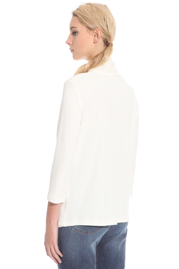 Jersey crepe blouse Intrend
