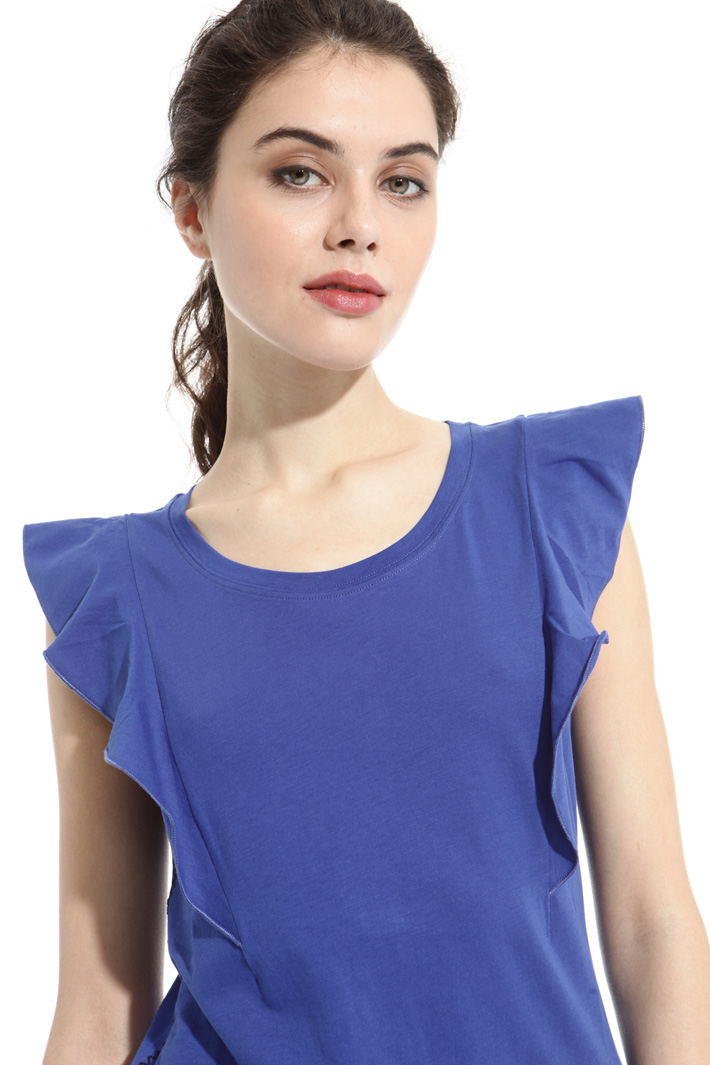 Frilled top Intrend