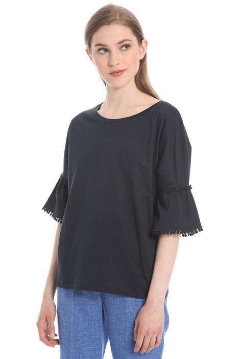 T-shirt con passamanerie Intrend