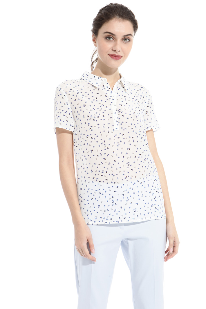 Shirt collar top Intrend