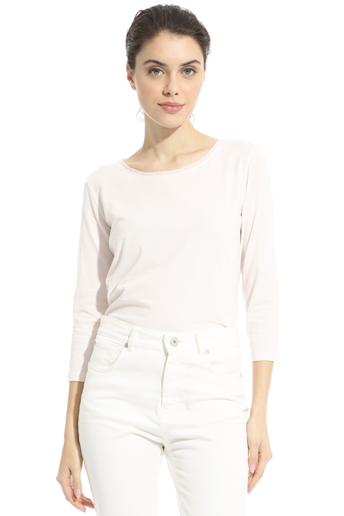 Stretch cotton T-shirt Intrend