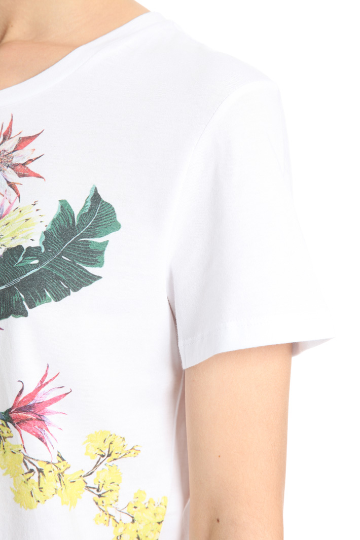 T-shirt in cotone con stampa Intrend