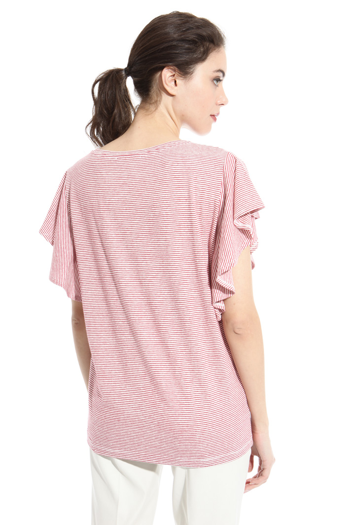 Linen and cotton T-shirt Intrend
