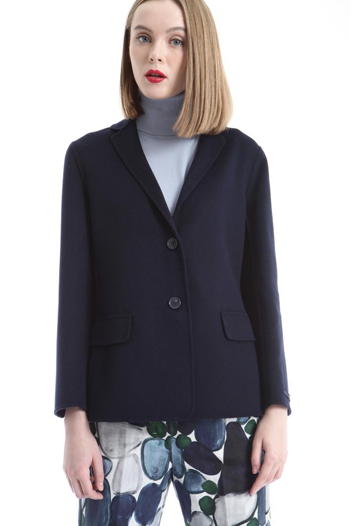 Cappotto corto in lana Intrend