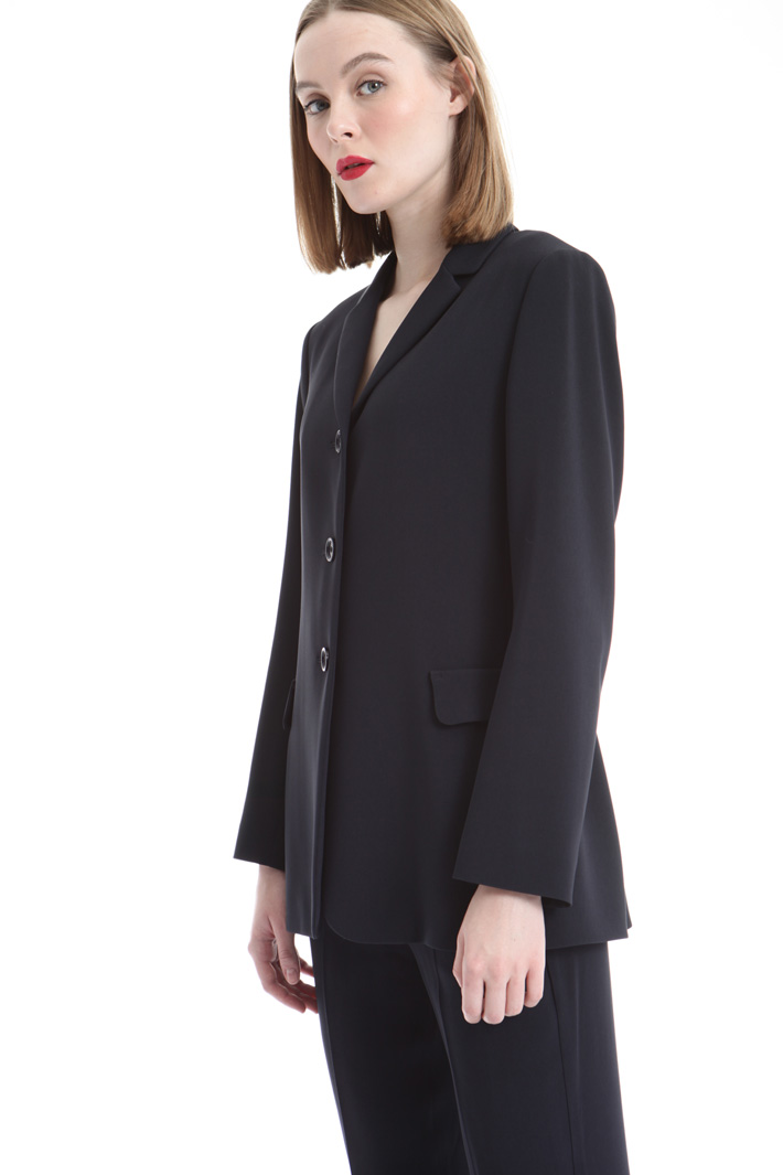 Blazer in cady fluido Intrend