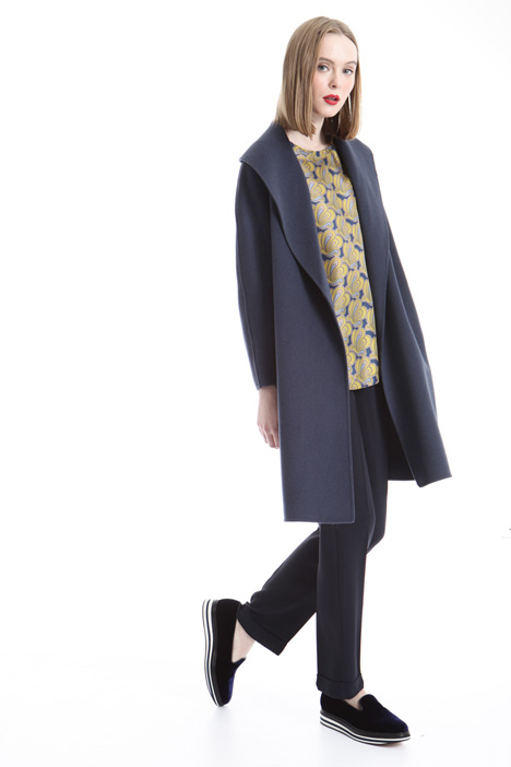 Oversized lapel coat Intrend