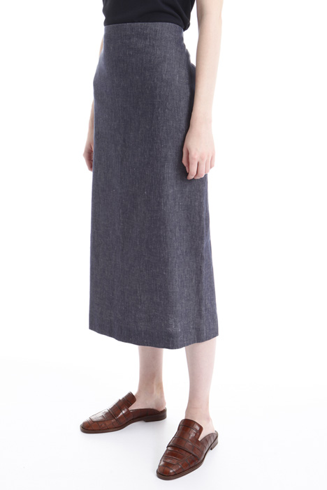 Denim-effect skirt Intrend