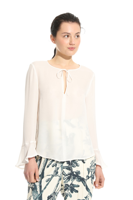 Silk georgette blouse Intrend