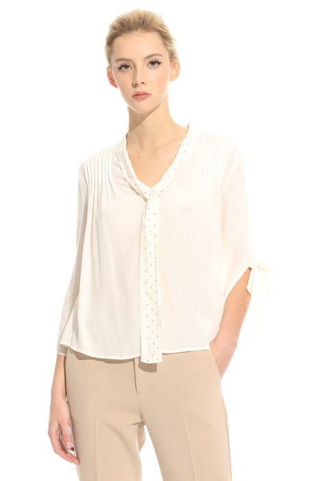 Blusa in crepe fluido Intrend
