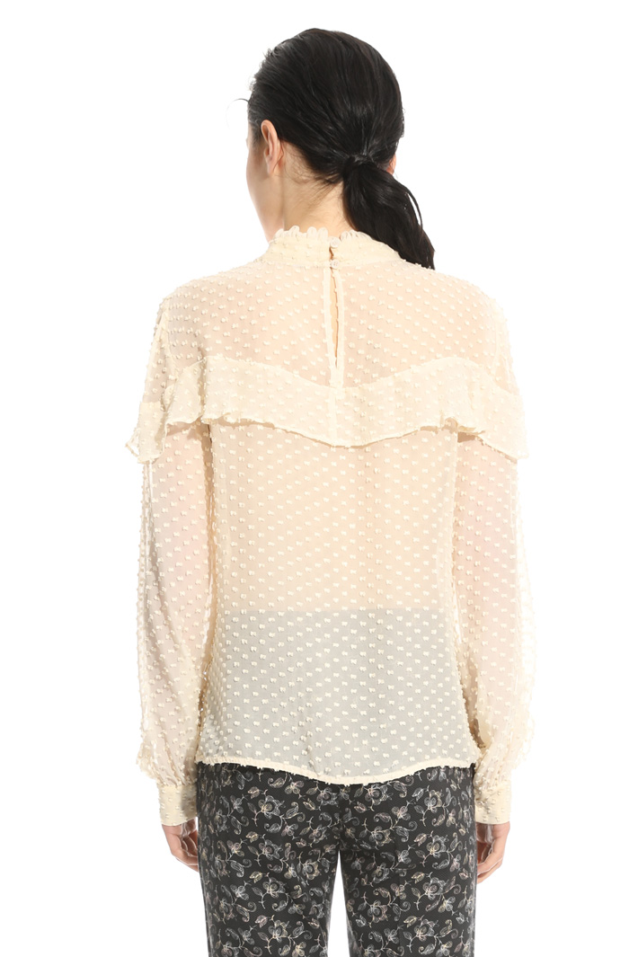 Blusa in fil coupè Intrend