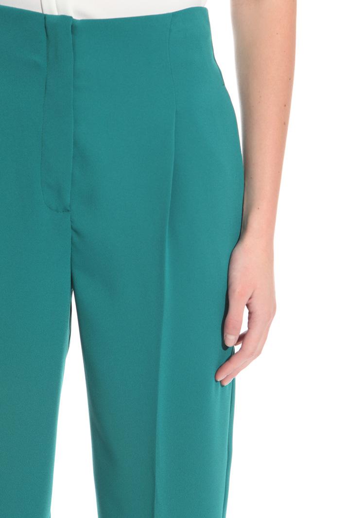 Pantalone in cady a vita alta Intrend