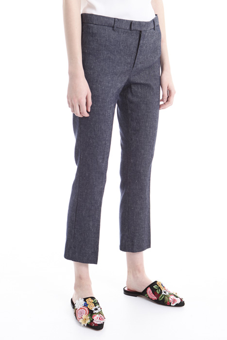 Denim-effect trousers Diffusione Tessile
