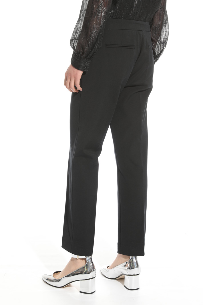 Pantalone in faille stretch Intrend