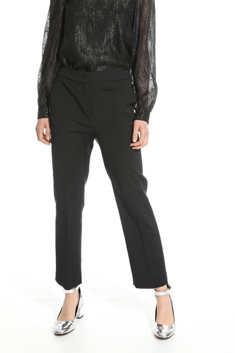 Pantalone in faille stretch Diffusione Tessile