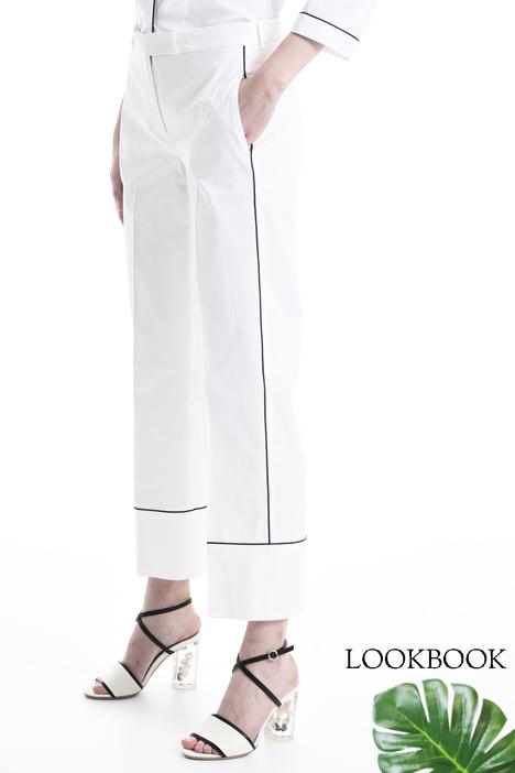 Pantalone dalla linea dritta Diffusione Tessile