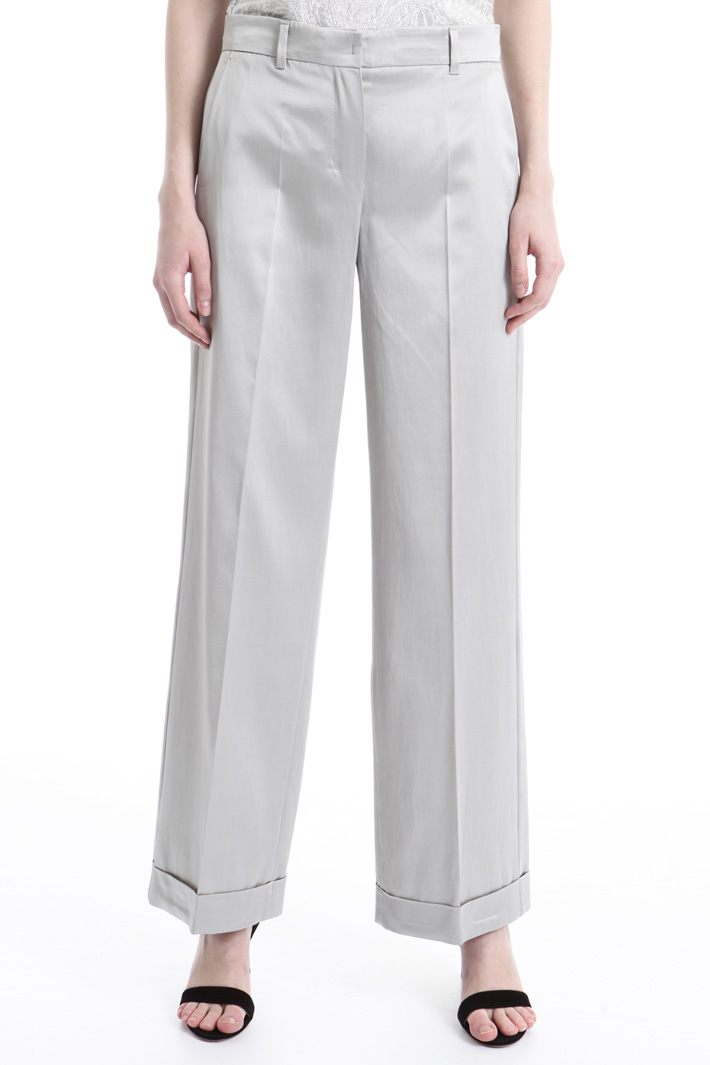 Pantalone dalla linea fluida Intrend