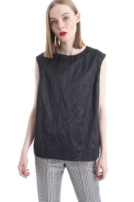 Wrinkled-effect top Intrend