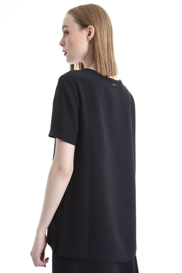 Silk georgette T-shirt Intrend