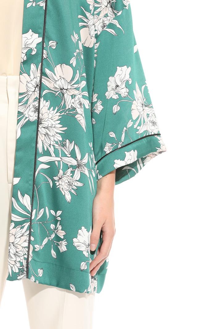 Printed twill tunic Intrend