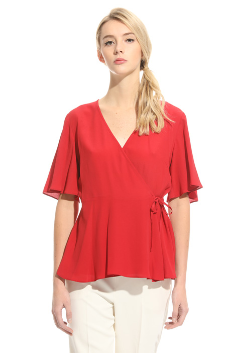 Silk crepe top Intrend