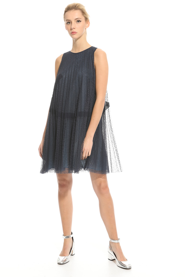 A-line dress in tulle Intrend
