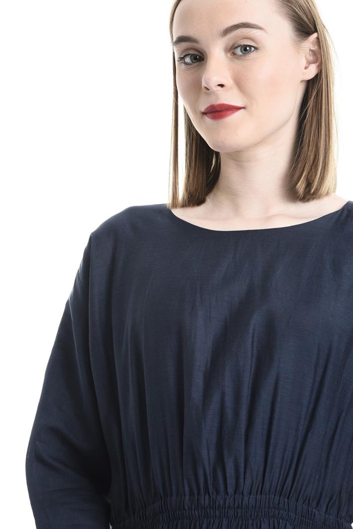 Cotton and silk voilé dress Intrend