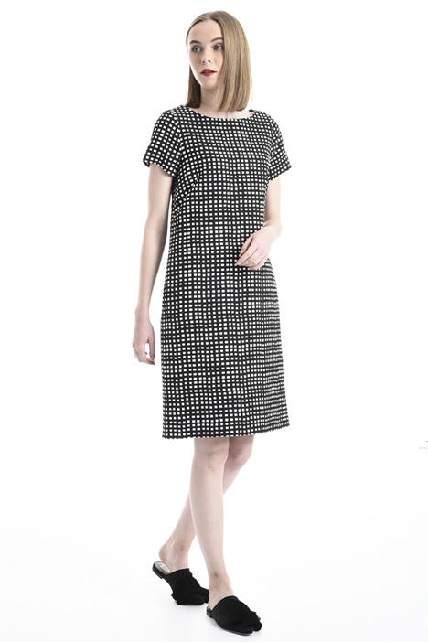 Matelassé jacquard dress Intrend