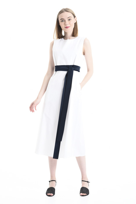 Self-tie sash dress Intrend