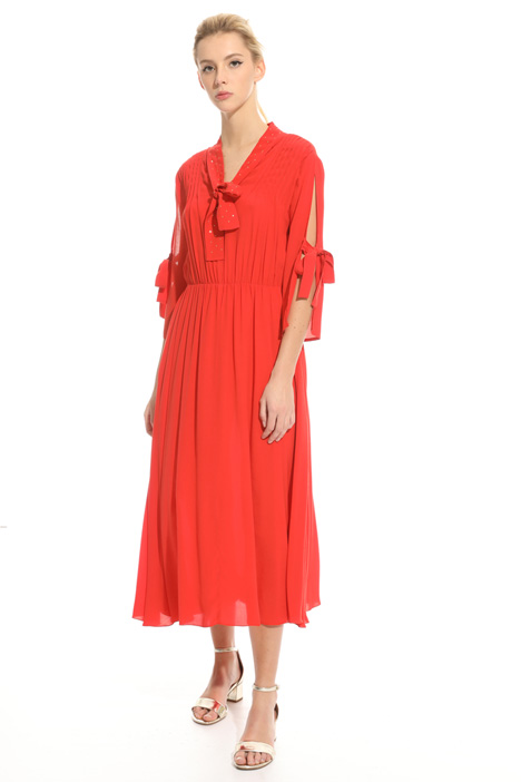 Viscose crepe dress Intrend