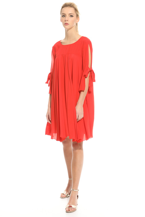 Loose-fit crepe dress Intrend