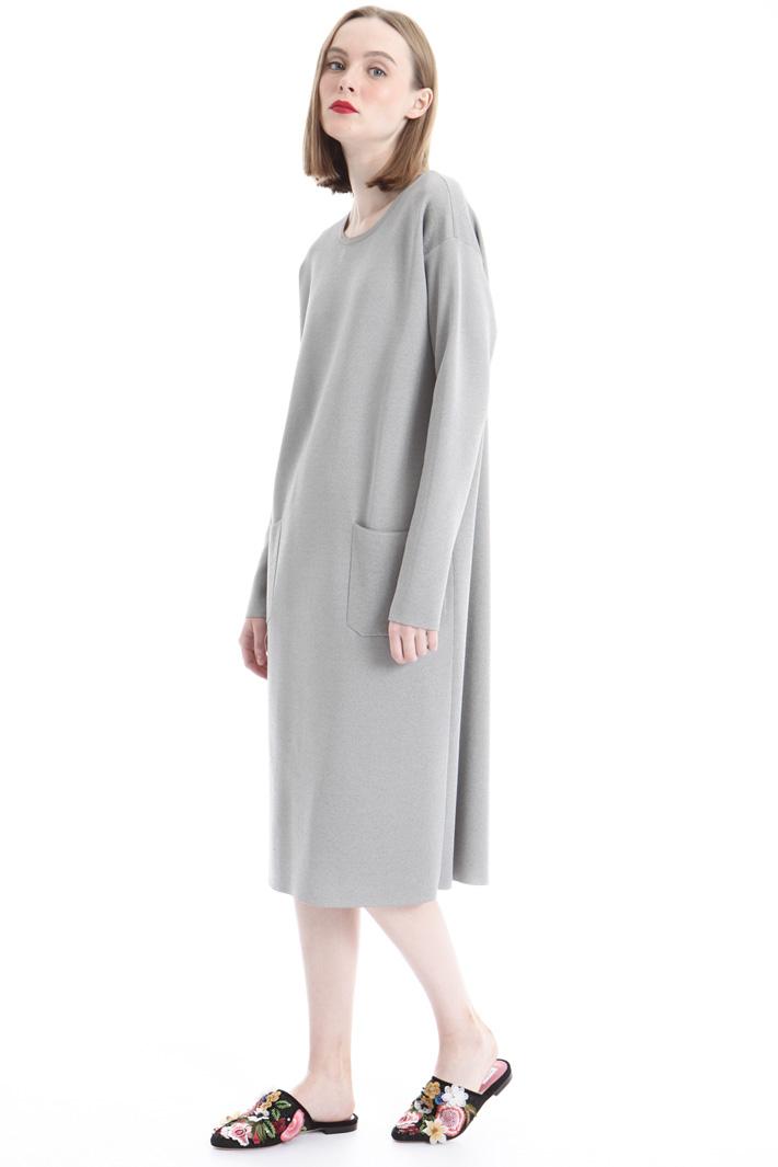 Lurex knitted dress Intrend
