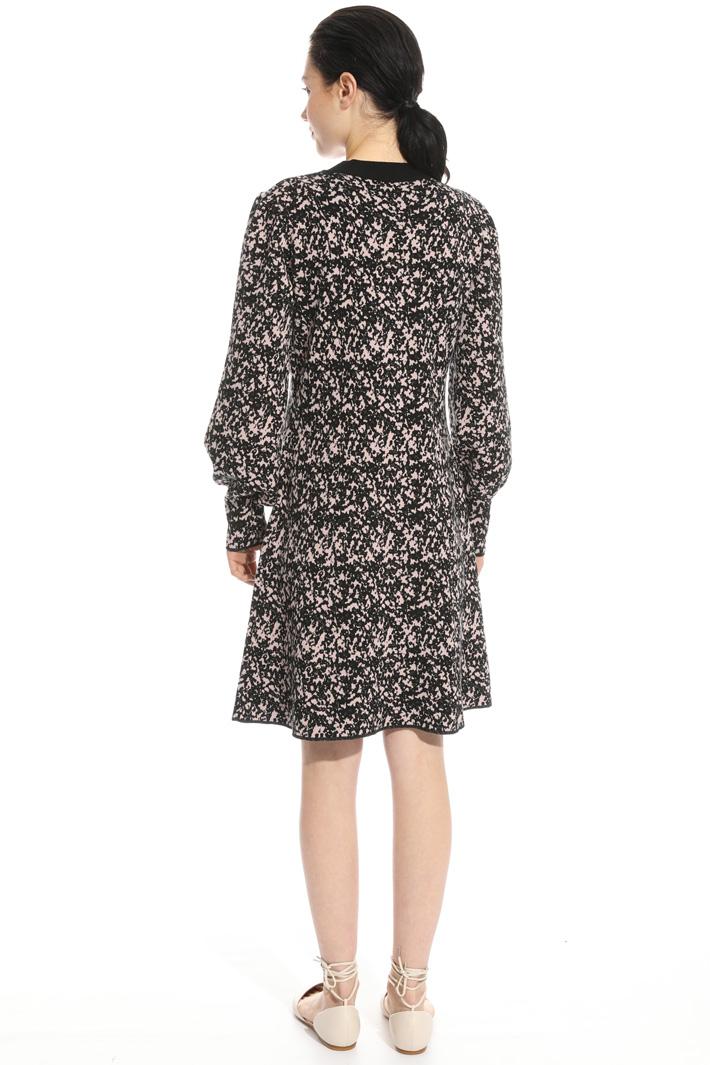 Knit jacquard dress Intrend