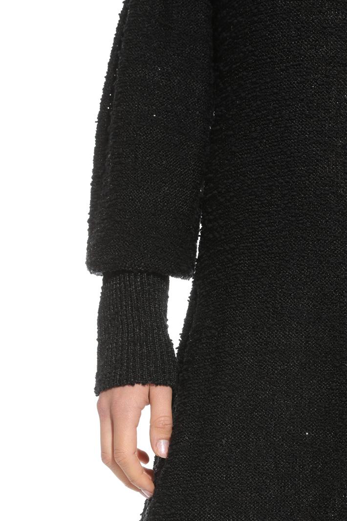Abito in maglia con paillettes Intrend