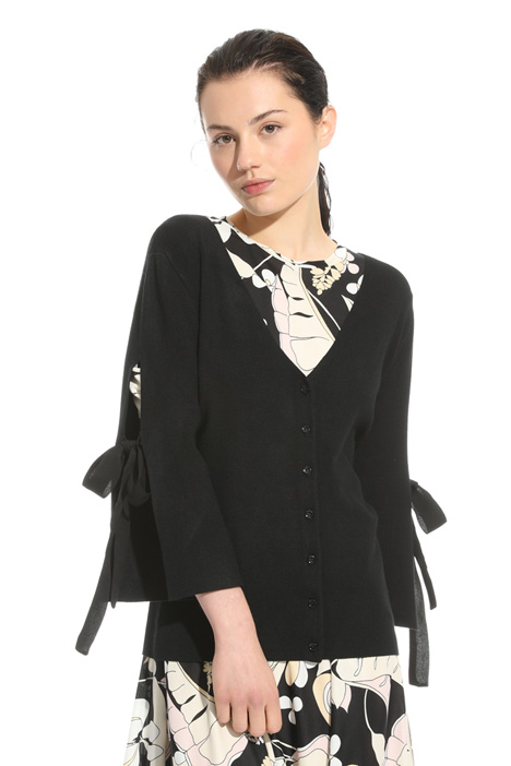 Bow detail cardigan Intrend