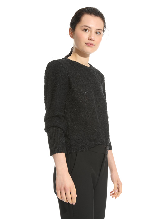 Micro-sequin sweater Intrend