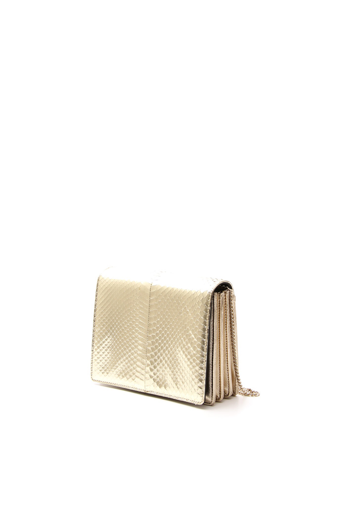 Leather clutch Diffusione Tessile