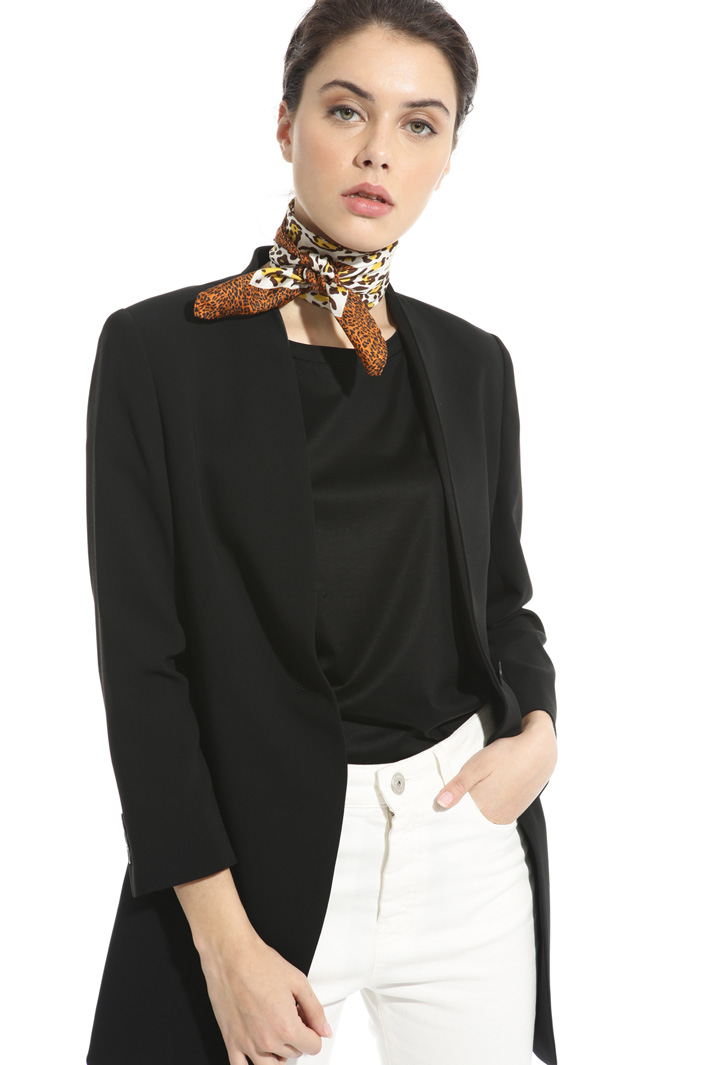 Animalier print foulard Intrend