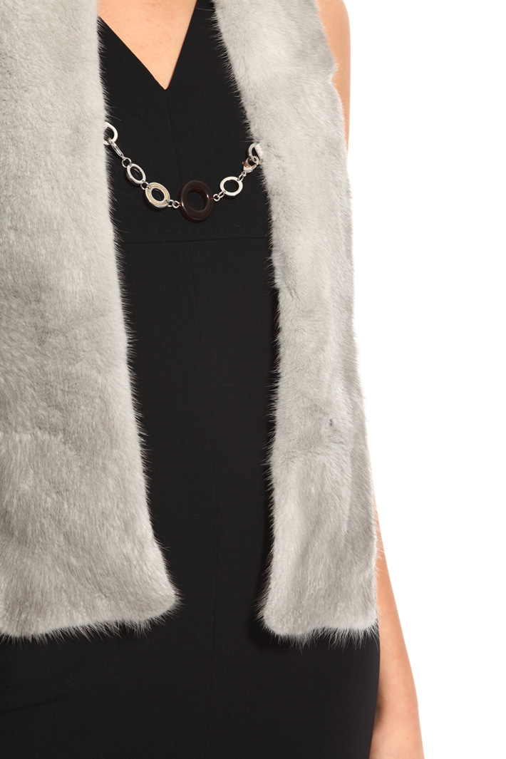 Mink fur stole Intrend